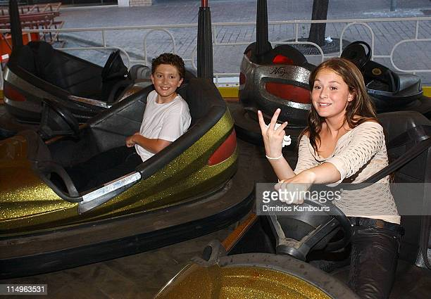 Daryl Sabara and Alexa Vega during 'Spy Kids 3D Game Over' World Premiere After Party at Inter Continental Hotel in Austin Texas United States