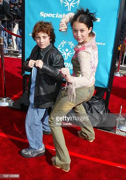 Daryl Sabara and Alexa Vega
