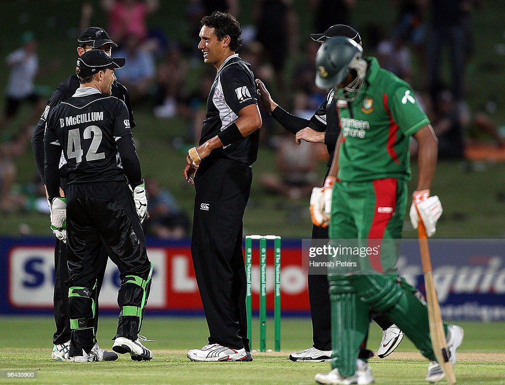 New Zealand v Bangladesh - 1st ODI