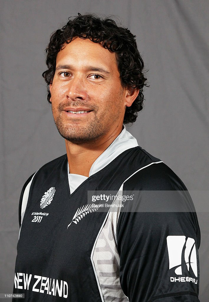 2011 ICC World Cup - New Zealand Portrait Session