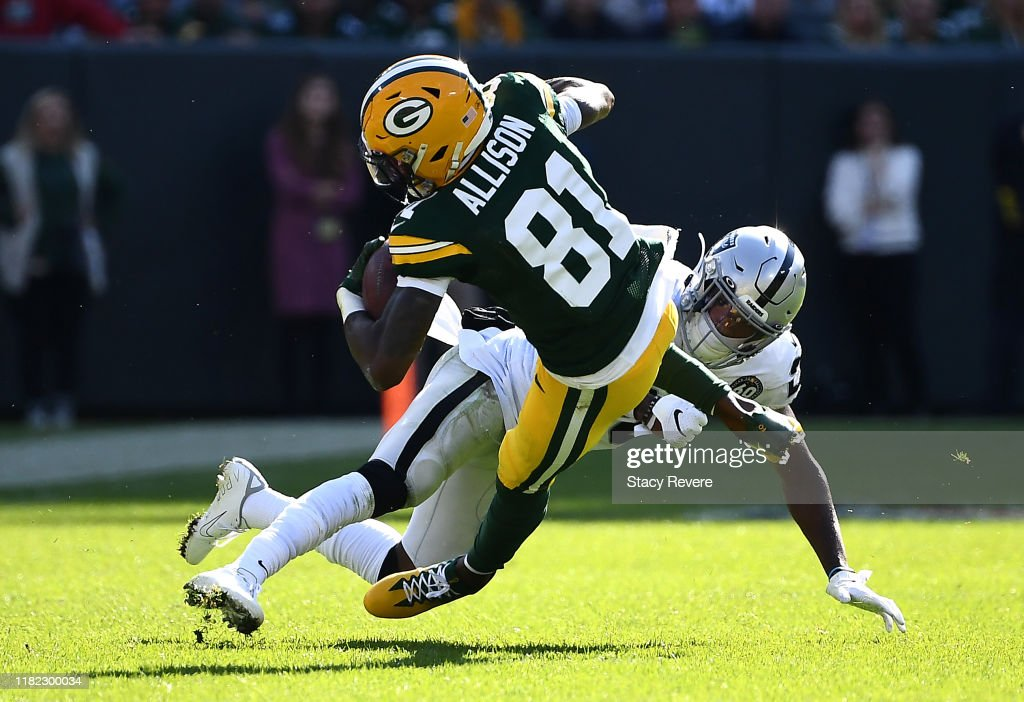 Daryl Worley Of The Oakland Raiders Attempts To Tackle Geronimo News Photo Getty Images