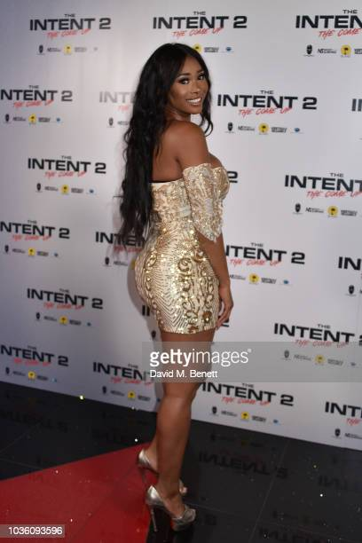 Darylle Sargeant attends the World Premiere of 'The Intent 2 The Come Up' at Cineworld Leicester Square on September 19 2018 in London England