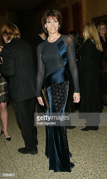 Daryn Kagan arriving at the Ovarian Cancer Research Fund Legends Gala benefit at the Hammerstein Ballroom in New York City December 2 2002 Photo by...