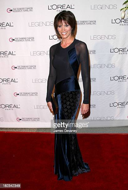 Daryn Kagan during Legends Gala New York at Hammerstein Ballroom in New York City New York United States