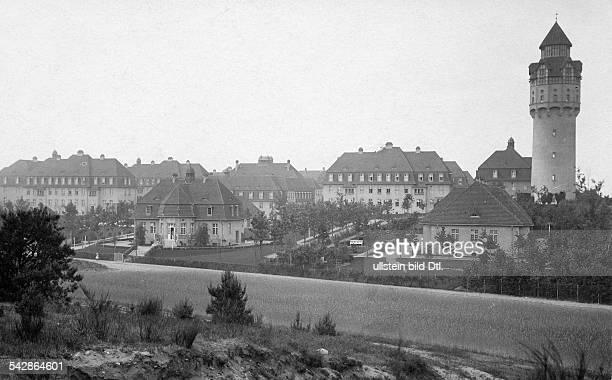 Das AlteLeuteHeim Buch Anstalt für Hospitaliten erbaut 1905 bis 1909 von Architekt Ludwig Hoffmann Gesamtansicht mit Wasserturm undatiert vermutlich...