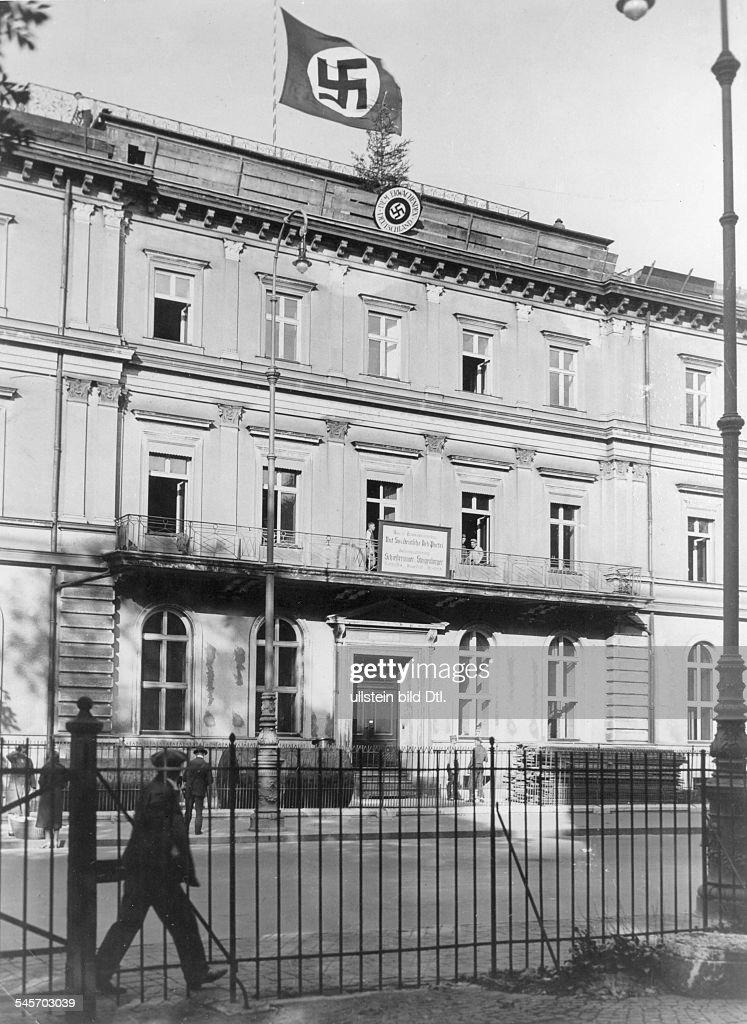 Braunes Haus braunes haus sitz der nsdap in münchen pictures getty images