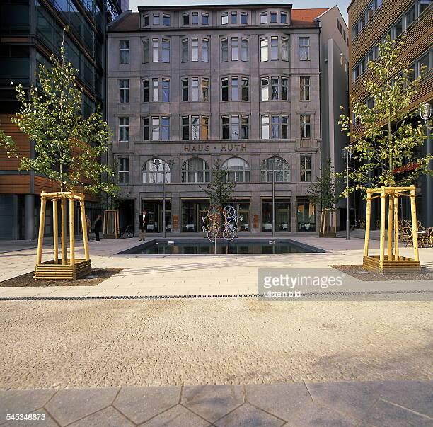 Das ehemalige Weinhaus HuthAussenansicht Oktober 1999