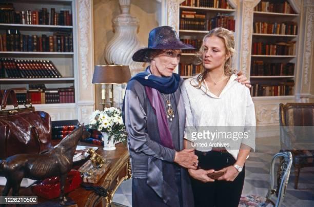 Das Erbe der Guldenburgs Fernsehserie Deutschland 1986 1988 Folge Die große Liebe Darsteller Brigitte Horney Katharina Böhm