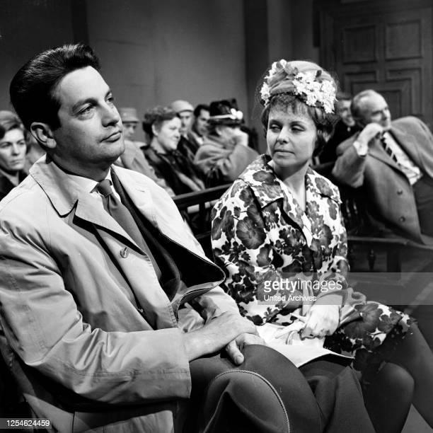 Das Fernsehgericht tagt, Fernsehserie, Deutschland 1961 - 1978, Folge: Bigamie, Deutschland 1960er Jahre - Darsteller: Hannelore Mabry .