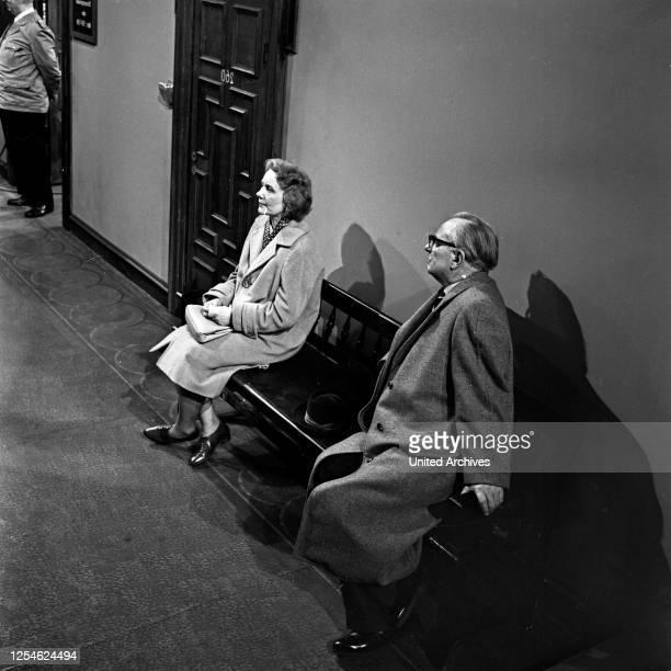 Das Fernsehgericht tagt, Fernsehserie, Deutschland 1961 - 1978, Folge: Bigamie, Deutschland 1960er Jahre ' Szenenfoto.