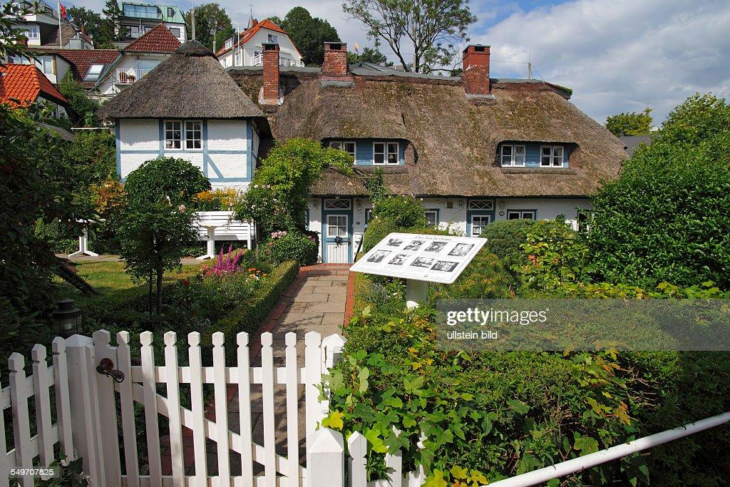 Altes Fischerhaus das fischerhaus am süllberg in hamburg blankenese an der elbe