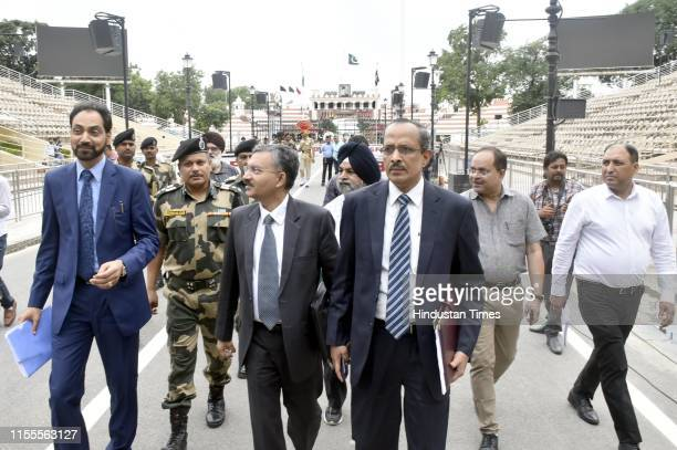 Das Joint Secretary Ministry of Home Affairs Dr Deepak Mittal Joint Secretary Ministry of External Affairs and Hussan Lal secretary PWD Punjab with...