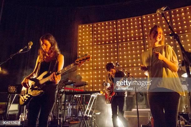 BOY das Musikduo mit der Zuercher Saengerin Valeska Steiner und der Hamburger Musikerin Sonja Glass bei einem Konzert im Hamburger Mojo Club Photo by...