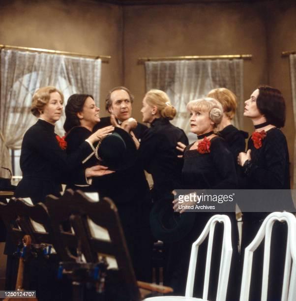Das Orchester Konzertstück Deutschland 1979 Regie Dietrich Haugk Darsteller Ernst Stankovski Ernie Mangold Sylvia Lukan Bibiane Zeller Lotte Ledl Ida...