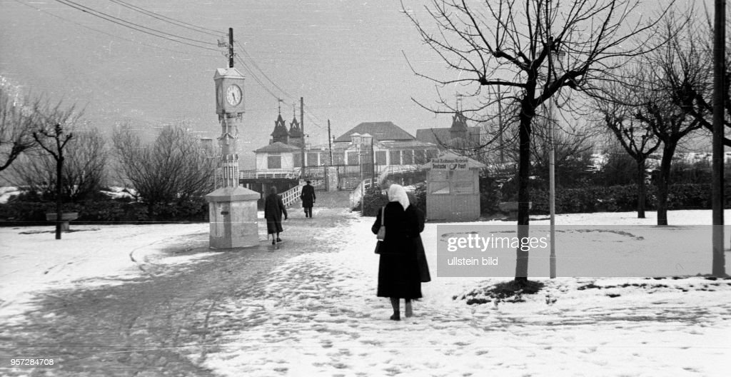 DDR - Ahlbeck auf Usedom  1957 : News Photo