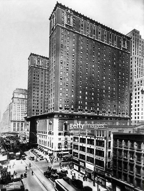 Das Plaza Hotel in New York 1928