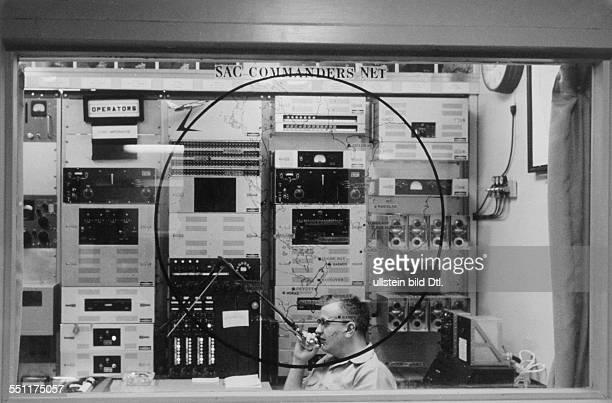 Das RadioCommunication Center im SACHauptquartier unterirdisch 1962