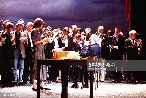 Das Thalia Ensemble Gratuliert Will Quadflieg Zum 80 Geburtstag 80 Geburtstag Will Quadflieg