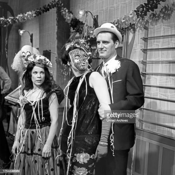 Das unverschämte Glück, ein Mann zu sein - Indiskretionen eines Adams von heute, Fernsehfilm, Deutschland 1965, Regie: Arthur Maria Rabenalt,...