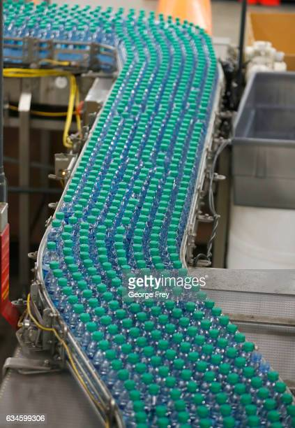 Dasani bottled water moves down a production line at a CocoCola bottling plant on February 10 2017 in Salt Lake City Utah Current Coke president...