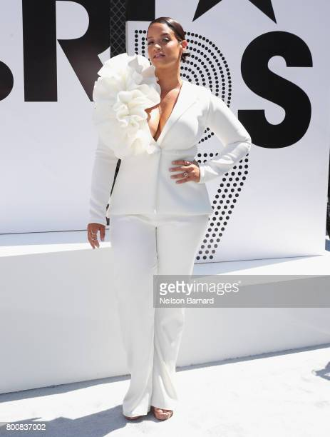 Dascha Polanco at Live Red Ready PreShow at the 2017 BET Awards at Microsoft Square on June 25 2017 in Los Angeles California