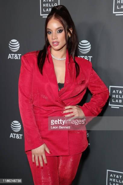 Dascha Polanco attends ATT Filmmaker Mentorship Program at NeueHouse Los Angeles on November 07 2019 in Hollywood California