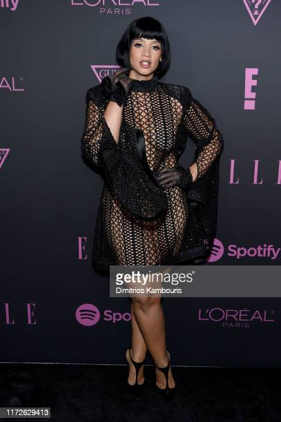 Dascha Polanco attends ELLE Women in Music presented by Spotify and hosted by Nina Garcia Jameela Jamil E Entertainment on September 05 2019 in New...