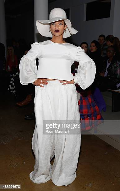 Dascha Polanco attends Houghton at Milk Studios on February 16 2015 in New York City