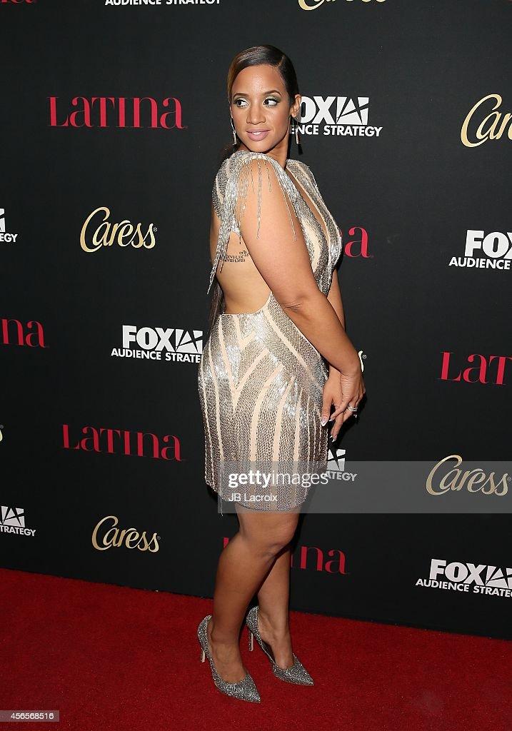 Dascha Polanco at Latina Magazines Hollywood Hot List Party
