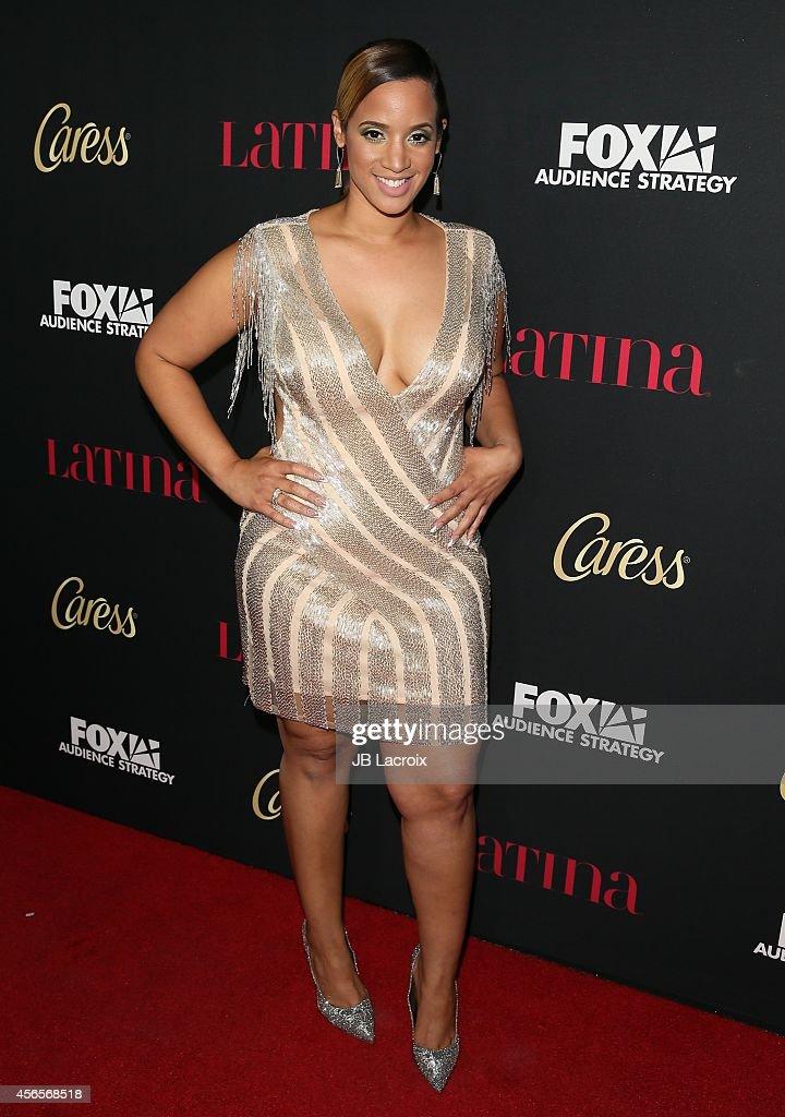 Actress Dascha Polanco arrives at LATINA Magazine