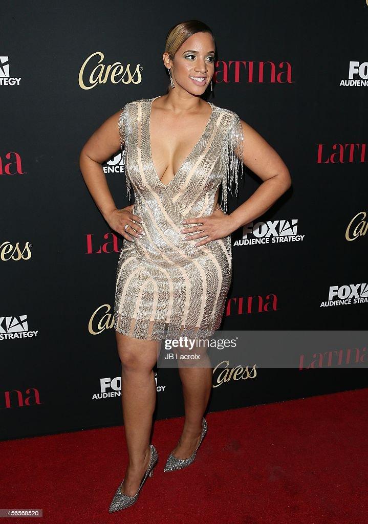 Dascha Polanco attends LATINA Magazines Hollywood Hot