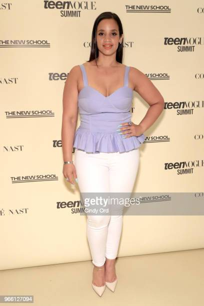 Dascha Polanco attends Teen Vogue Summit 2018: #TurnUp - Day 2 at The New School on June 2, 2018 in New York City.
