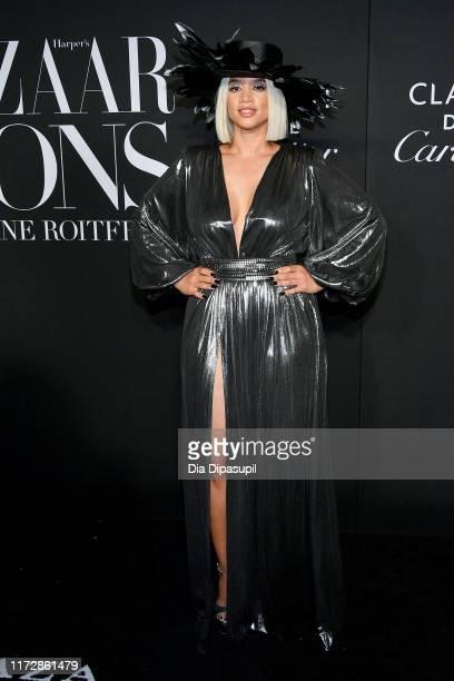 Dascha Polanco attends the 2019 Harper's Bazaar ICONS on September 06, 2019 in New York City.