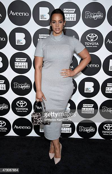 Dascha Polanco attends the People En Espanol's '50 Most Beautiful' 2015 Gala on May 12 2015 in New York City