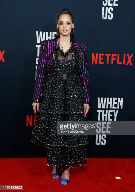Dascha Polanco attends When They See Us World Premiere at The Apollo Theater on May 20 2019 in New York City