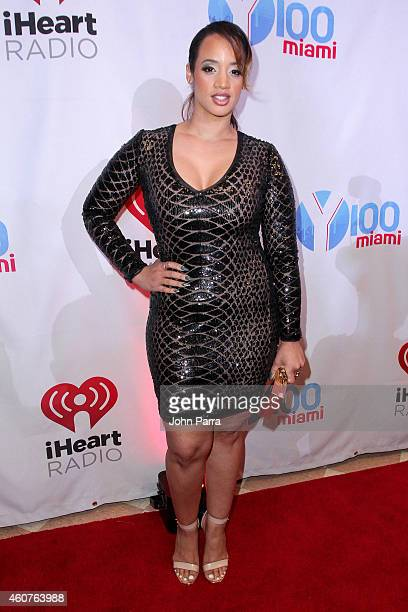 Dascha Polanco attends Y100's Jingle Ball 2014 at BBT Center on December 21 2014 in Miami FL