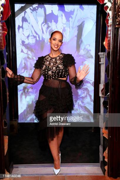 Dascha Polanco entering Madame Tussauds New York Presents Broadway on June 04 2019 in New York City