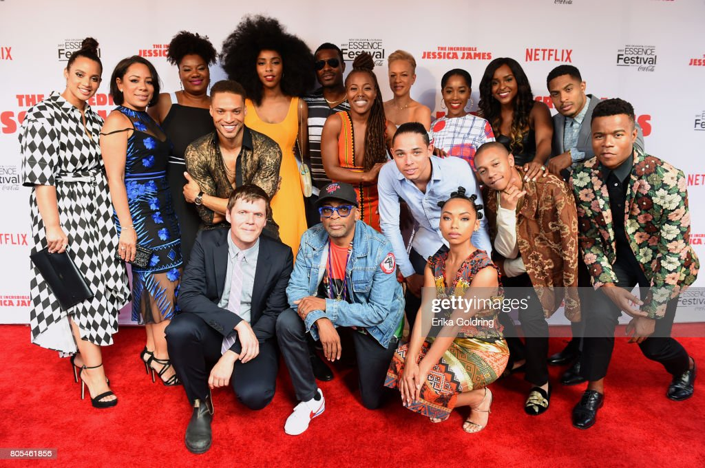 """Premiere Of Netflix Original Film """"The Incredible Jessica James"""" At The 2017 Essence Festival"""