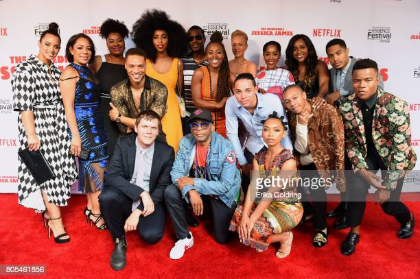 Dascha Polanco Seleynis Leyva Adrienne C Moore Jim Strouse Cleo Anthony Jessica Williams Spike Lee DeWanda Wise Lyriq Bent Logan Browning Anthony...