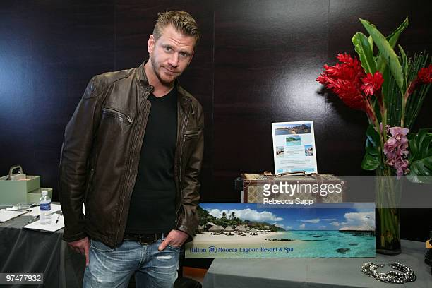 Dash Mihok at Backstage Creations Celebrity Retreat at Haven360 at Andaz Hotel on March 5 2010 in West Hollywood California