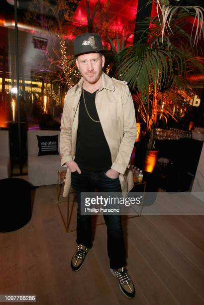 Dash Mihok during Republic Records Grammy after party at Spring Place Beverly Hills on February 10 2019 in Beverly Hills California