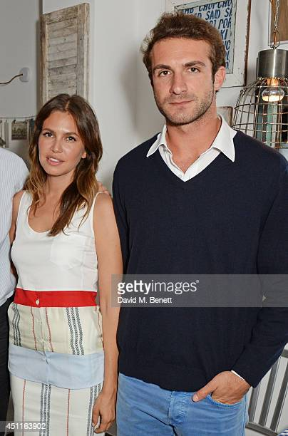 Dasha Zhukova and Stavros Niarchos attend Mazi's Summer Party with guest of honor Eugenie Niarchos Venyx World on June 24 2014 in London England