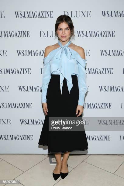 Dasha Zhukova attends DLUXE presented by WSJ Magazine at The Montage Laguna Beach on October 18 2017 in Laguna Beach California