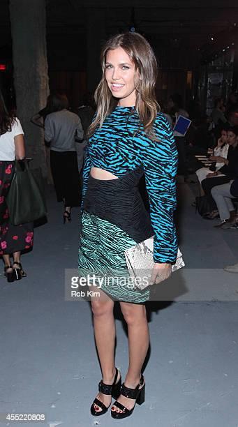 Dasha Zhukova attends Proenza Schouler during MercedesBenz Fashion Week Spring 2015 at 23 Wall Street on September 10 2014 in New York City
