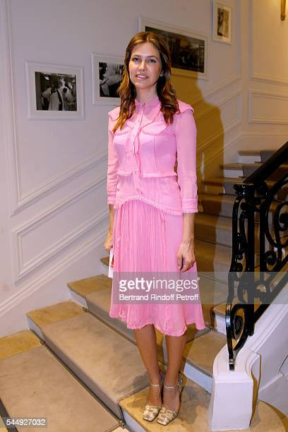 Dasha Zhukova attends the Christian Dior Haute Couture Fall/Winter 20162017 show as part of Paris Fashion Week on July 4 2016 in Paris France
