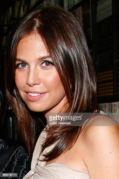 Dasha Zhukova attends the Evelina Khromtchenko Paris book launch at the Assouline Library on July 6 2009 in Paris France