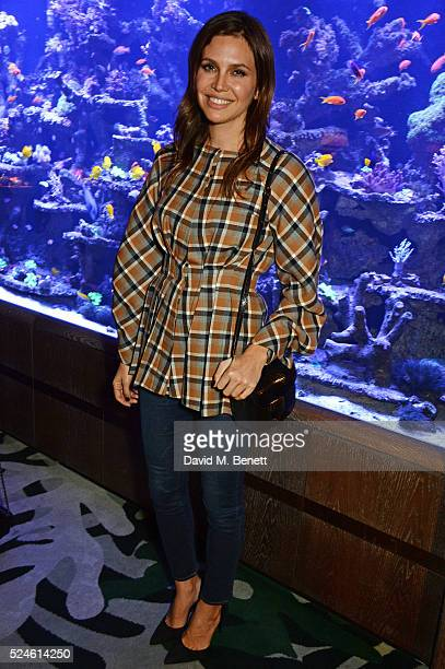 Dasha Zhukova attends the launch of the new Venyx Oseanyx collection hosted by Eugenie Niarchos and Lucy Yeomans at Sexy Fish on April 26 2016 in...