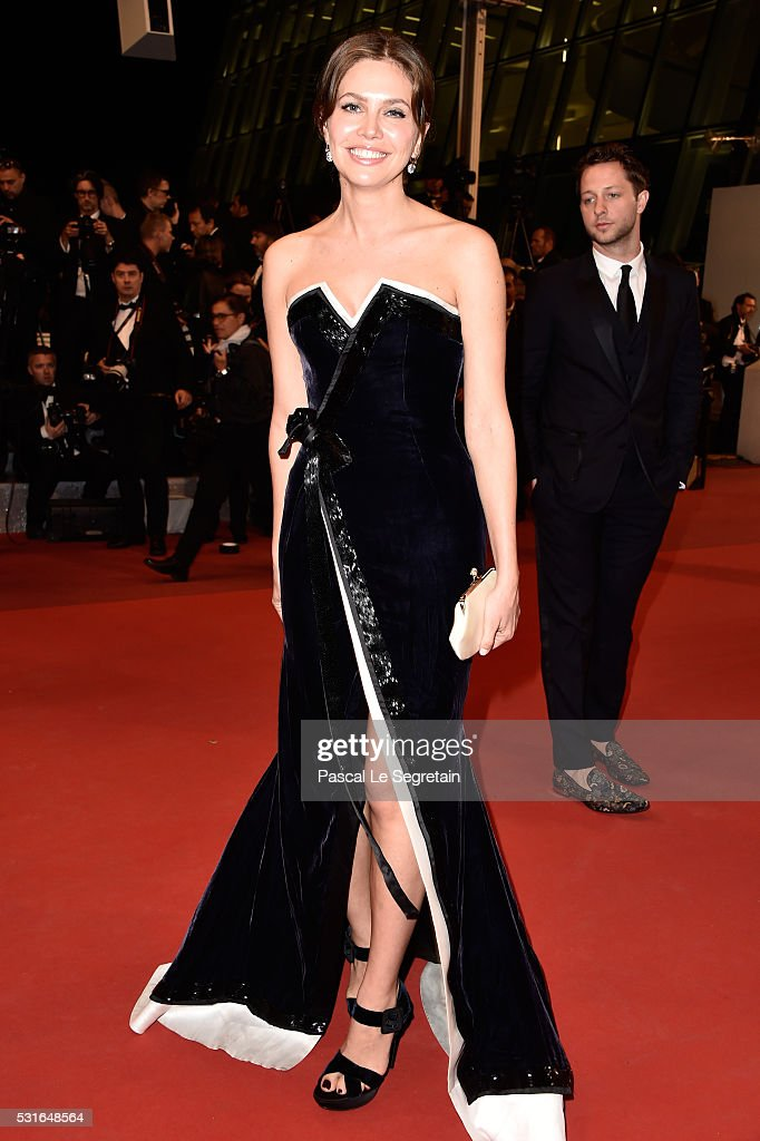 Dasha Zhukova attends 'The Nice Guys' premiere during the 69th annual Cannes Film Festival at the Palais des Festivals on May 15, 2016 in Cannes, France.