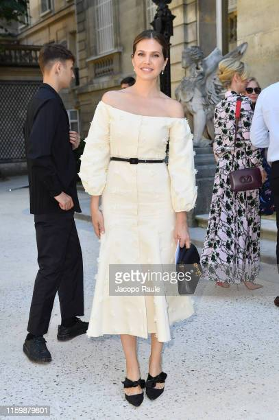 Dasha Zhukova attends the Valentino Haute Couture Fall/Winter 2019 2020 show as part of Paris Fashion Week on July 03 2019 in Paris France
