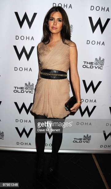 Dasha Zhukova attends the W Doha 1st birthday celebration in partnership with The Old Vic at Chinawhite on March 22 2010 in London England